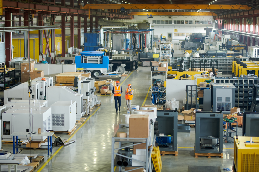 Modern Manufacturing Facility